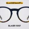 Matte Blue Round Blauer 5007 Glasses Frames