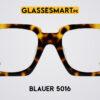 Wayfarer Gold Tortoise Blauer 5016 Glasses Frames