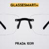 Prada 1039 Glasses Frame Black