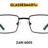 zari 6003 glasses frame black