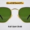 Ray Ban 3548 Sunglasses green