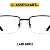 Zari 6002 glasses frame black